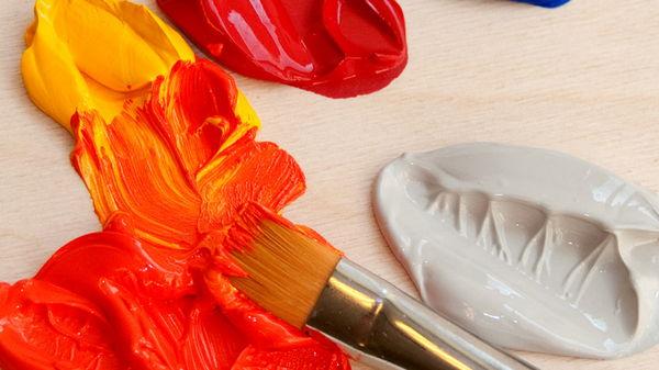 Как правильно выбрать акриловую краску?