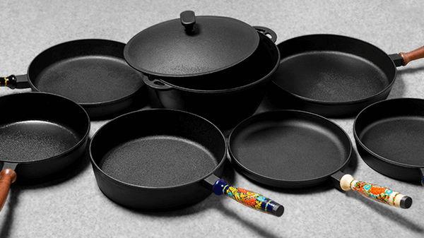 Как правильно ухаживать за чугунной посудой