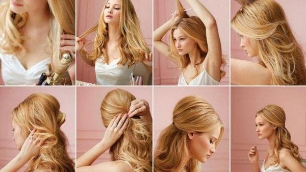 Домашние прически для длинных волос – ваш неповторимый образ