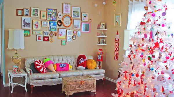 Как украсить дом на Новый год: главные цвета и атрибуты