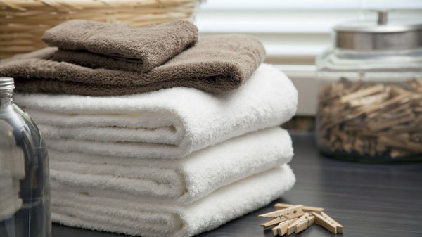 Как сделать махровые полотенца вновь мягкими и пушистыми?