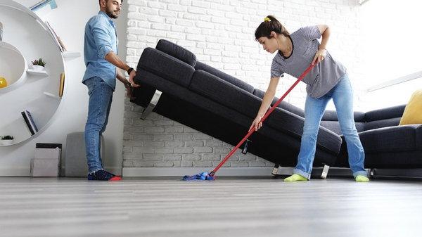 Схема мытья покрытий дома для идеальной чистоты