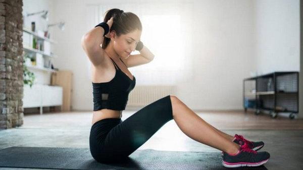 Домашняя жиросжигающая тренировка