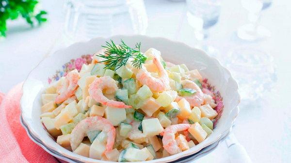Салат Морская свежесть как готовить
