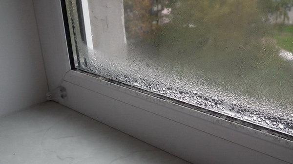 Как одолеть конденсат на окнах