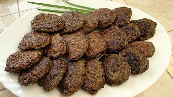 Котлеты из говяжьей печени приготовление