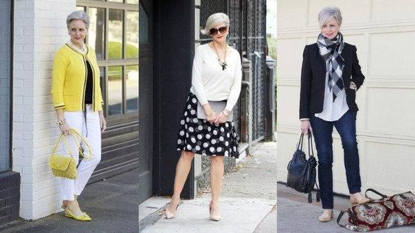 7 советов по выбору одежды для женщин за 50