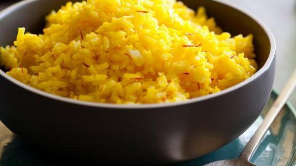 Классический рис с шафраном