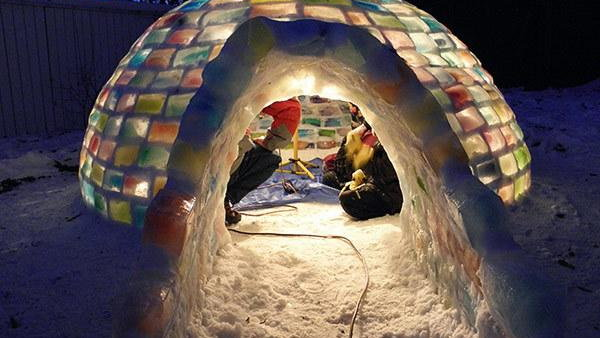 Идеи изо льда для детей