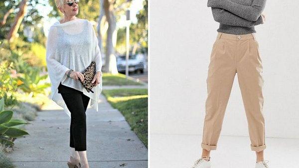Какой длины должны быть брюки у дам элегантного возраста