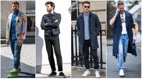 Какую обувь не стоит носить с джинсами
