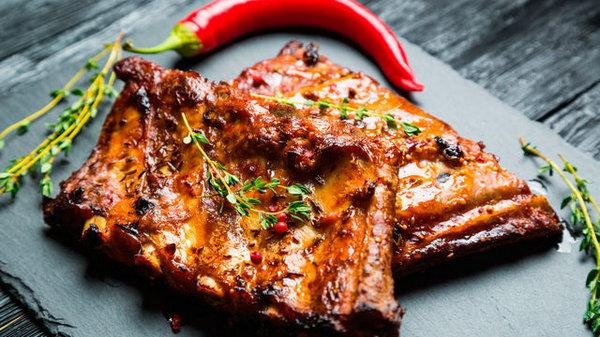 Рецепт свиных ребрышек барбекю в духовке