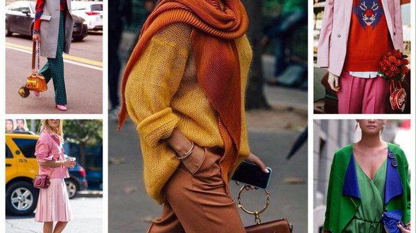 Пять лучших цветовых сочетаний в одежде