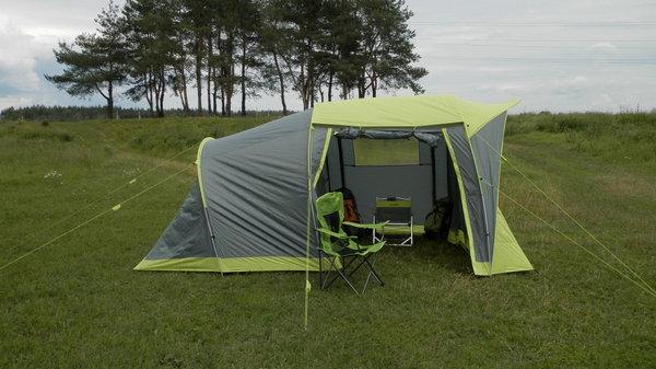 Палатка Norfin Asp 4 идеально подходит для семейной вылазки на природу
