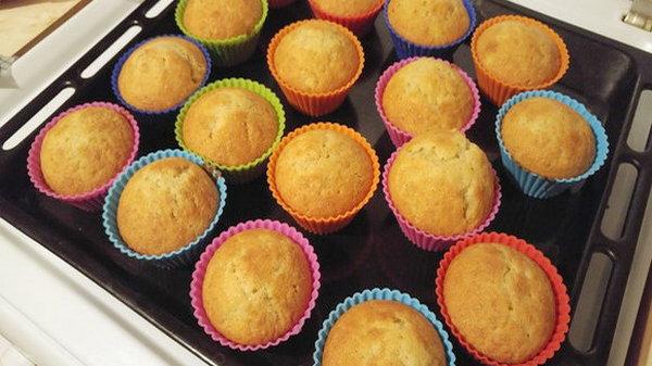 Классический рецепт кексов в формочках