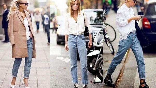 С чем носить джинсы-морковки
