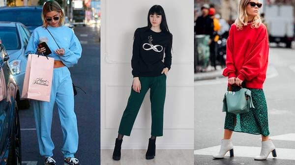 Весенняя мода: свитшоты на каждый день