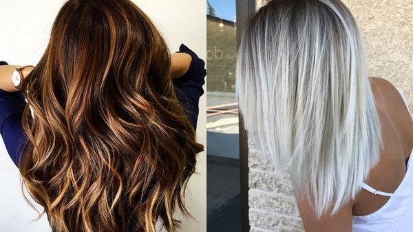 Как происходит мелирование на тёмные волосы?