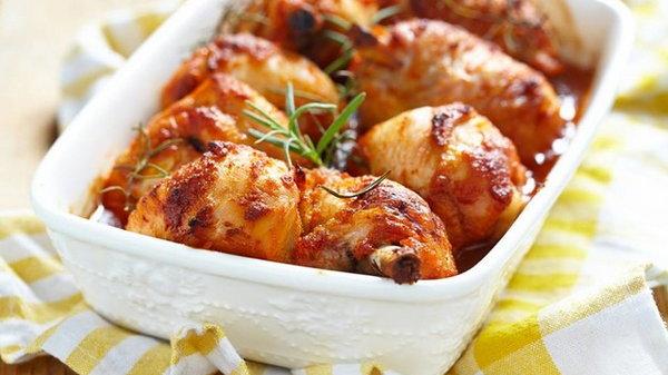 Рецепт курицы в медовой глазури
