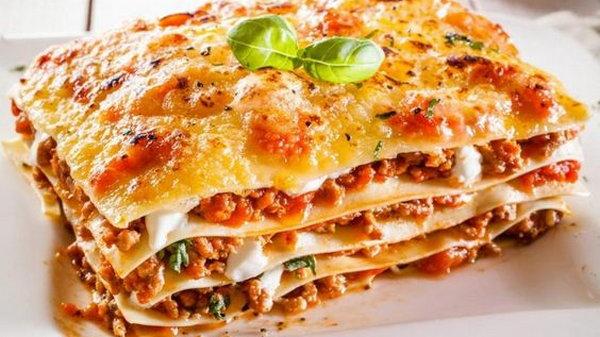 Рецепт капустной лазаньи с соусом бешамель