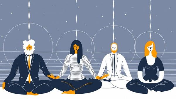 Связь психологии и медитации