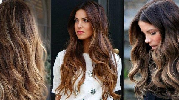 Лучшие варианты окрашивания темных волос