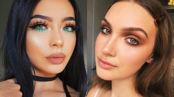 Как сделать макияж с акцентом на глаза