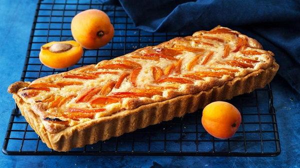 Как испечь французский пирог с абрикосами