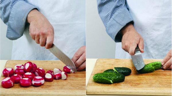 Ресторанное блюдо из пучка редиса: бесподобный салат, который хочется есть каждый день!
