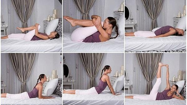 Не покидай постель, пока не выполнишь эти упражнения! А вот для чего…
