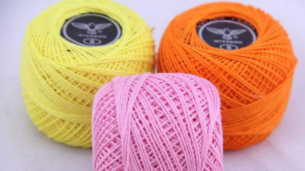 Виды ниток для вышивания в разных техниках