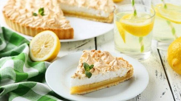Как приготовить лимонный торт