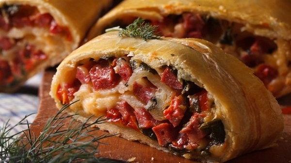 Указания по приготовлению польского мясного пирога