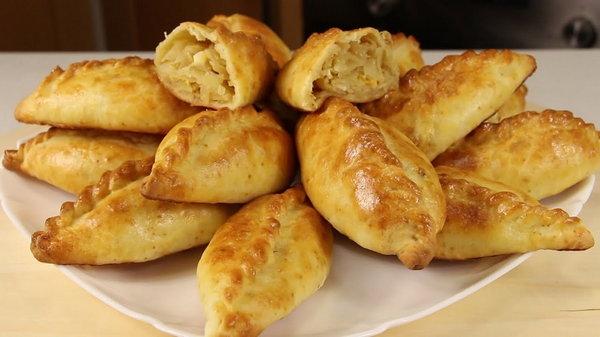 Инструкция по приготовлению рельефных пирожков из картофеля с начинкой