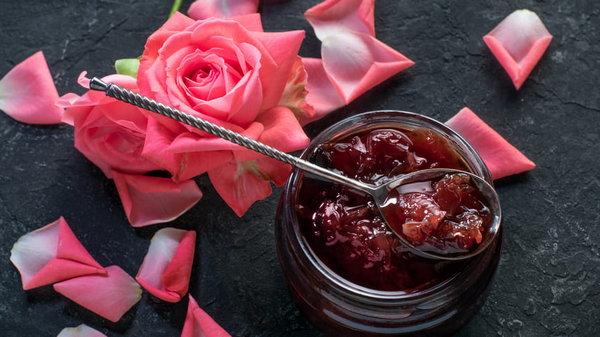 Розы в кулинарии
