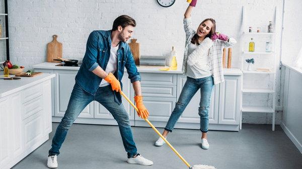 Как привлечь мужа к домашним делам