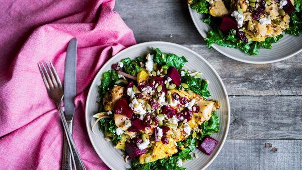 6 мини-салатов на любой вкус