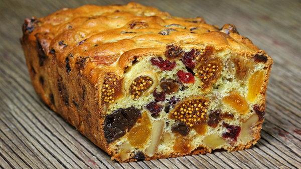 Как вкусный приготовить постный пирог с сухофруктами