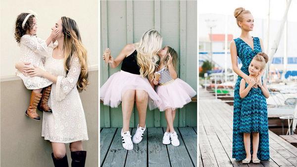 Мама и дочь – один стиль