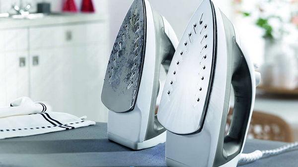 Как почистить утюг без спецсредств