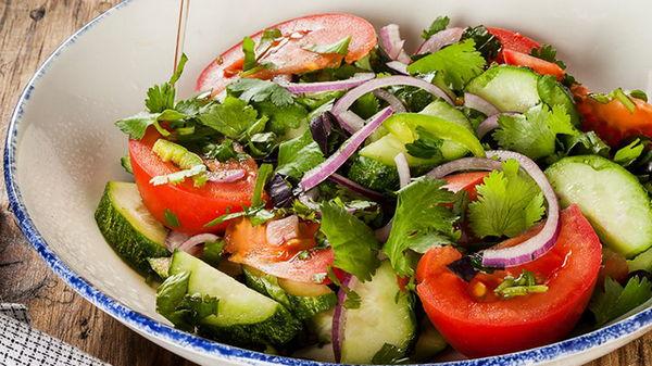 «Мельничный» салат