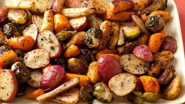 Овощи в духовке (рецепт)