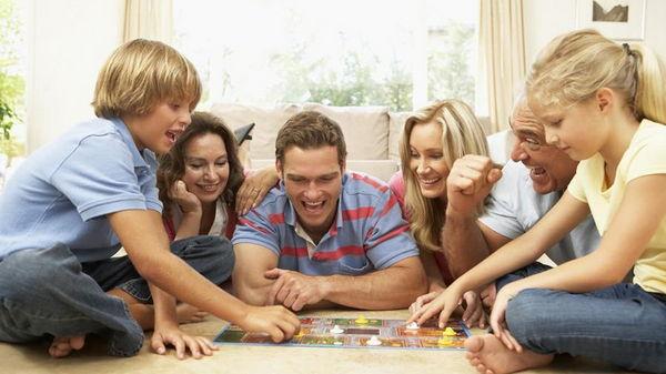 Домашние семейные игры