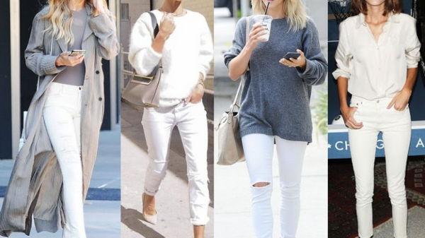 Женские хитрости: С чем носить рваные джинсы?